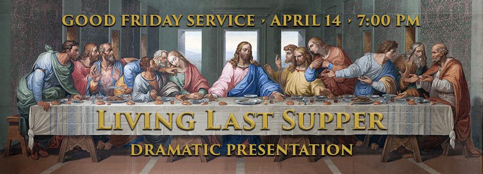 Living Last Supper | Eldon United Methodist Church || Eldon